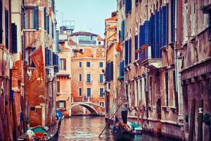 Walking in Venice - 1 by Tori-Tolkacheva