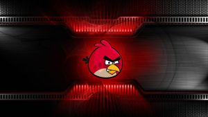 angry bird red wallpaper by femfoyou