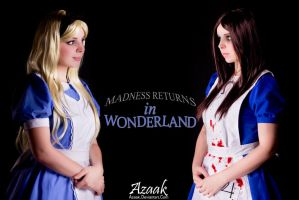 Madness Returns In Wonderland by Azaak