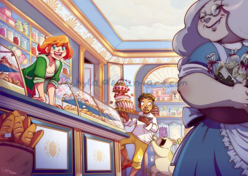 +Cubcakes+ The cake shop by Nephyla