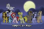 My Little Slayer - Vampires are Magic by toonbaboon