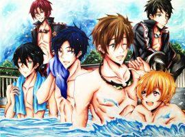 Free!: Eternal Summer by Tsiih-chan