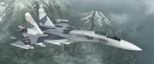 Su-35 - Yuktobanian Air Force by Jetfreak-7