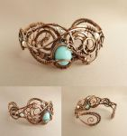 Bracelet Leila with pearls by UrsulaOT
