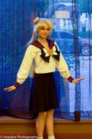 Usagi Tsukino High School 3 by SinnocentCosplay