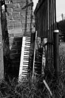 The Abandoned Piano I. by Alonir