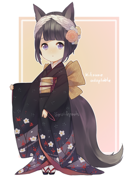 Kitsune adoptable - CLOSED by ZeroLifePoints