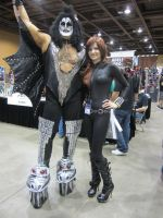 Black Widow (Aka Boo) with Jean Simmons by jamietyndall