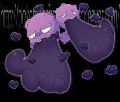 Weezing by Riboo