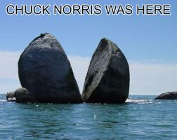 Chuck Norris Was Here by akatsuki-lover128