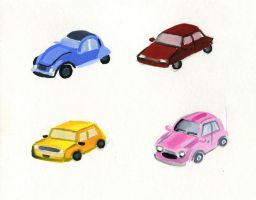 Cars by nataliebeth