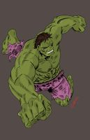 The Incredible Hulk by RedHobGoblin