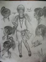 Korra Sketches by Ale-L