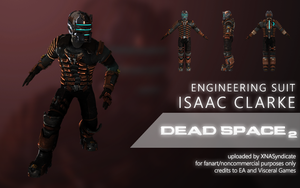 Dead Space 2 - Issac Clarke (Engineering Suit) by XNASyndicate