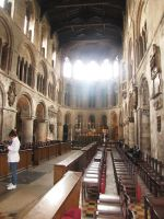 St Bartholomew the Great- nave by kwizar