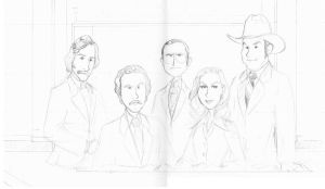 Anchorman pencils by BevisMusson