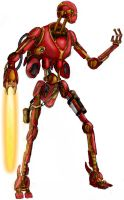 Battle Droid by Halicron
