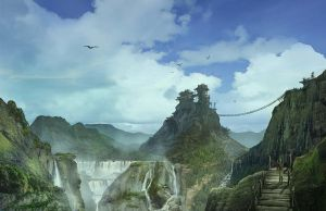 Eld'ar Mountain Range by JonathanP45