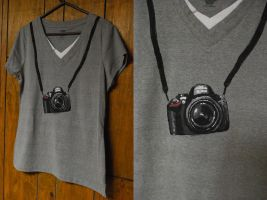 Nikon D1500 Shirt by ParadoxAndPlaid