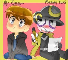 Mr.Enter and Rebel Taxi by madlinkplz