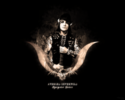 Synyster Gates Wallpaper by ren-g
