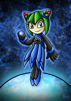 Blue Lantern Cosmo by Berty-J-A