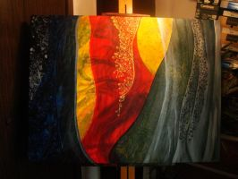 Layers and Patterns Painting by MelodicInterval