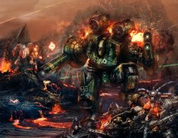 TRO 3060 reprint cover by flyingdebris