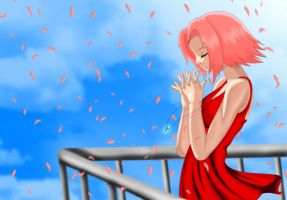Love: Petals Of Sakura Flowers by miro222
