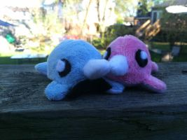 Narwhal Couple by Revilynn