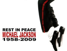 REST IN PEACE MICHAEL JACKSON by o-OPAZO-o