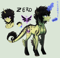 Zero .:New Ponysona-Ref:. by XKSilver
