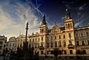 Cityhall in Pardubice by Humie