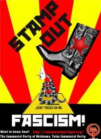 Stamp Out Fascism by wulfric82
