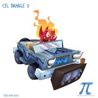 Cel Damage 2 - Sinder's car by TedKimArt