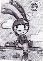 Oswald doodle by The-Randomer