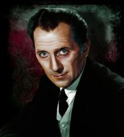 Peter Cushing by anderpeich