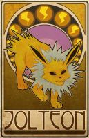 Jolteon Nouveau by ASTROPUNCH