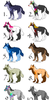 .:Splat.Dog Adopts:. -ALLGONE- by Carmens-Adopts