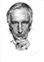 Alan Rickman by n00brevolution