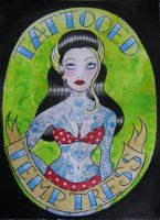 tattooed temptress by violet-grimm