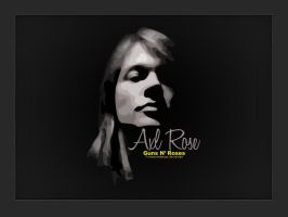 Axl Rose by firmacomdesign
