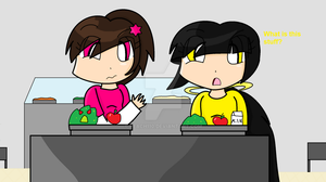 Contest Entry- School Lunch by Peach110