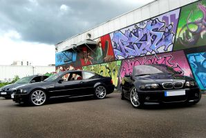 M3 E46 coupe et cab by psycko91