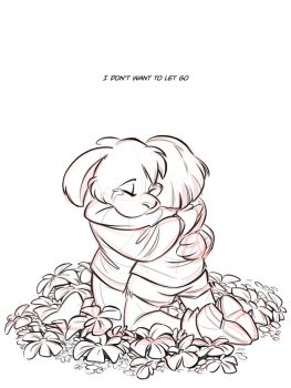 I Don't Want to Let Go - WIP by Quarter-Virus
