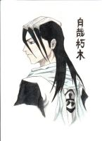 Kuchiki Byakuya: 6th Division Captain by mlatimerridley