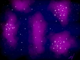 Purple Galaxy by ags342