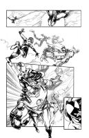 Marvel Sample Page: The Ultimate Spiderman #2 by ARIELAkris