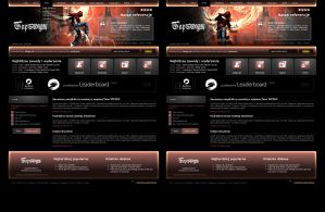 website layout 79 double by webgraphix