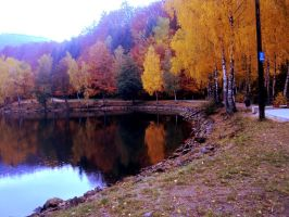 Autumn's signature by UccaRaluca